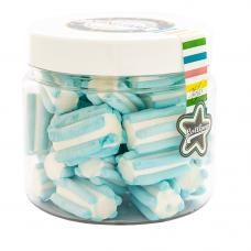 Marshmallow Light Blue Mini Jar, 130g