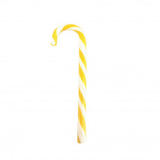 Yellow Candy Canes, 10 Pieces