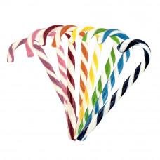 Mix Monocolor Candy Canes, 10 Pieces