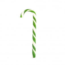 Green Candy Canes, 10 Pieces