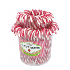 Red Candy Canes, 72 Pieces