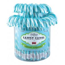 Light Blue Candy Canes, 72 Pieces