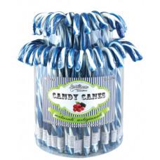 Blue Candy Canes, 72 Pieces