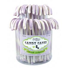Violet Candy Canes, 72 Pieces