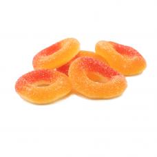 Sanded Peach Rings, 1kg