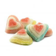 3D Sanded Hearts, 1kg