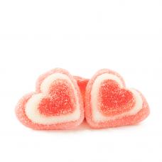 Sanded Pink Hearts, 1kg
