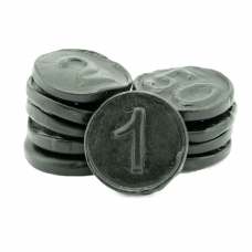Licorice Coins, 2kg