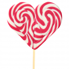 Red Heart Lollipop 200gr, 6 Pieces