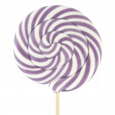 Violet Round Lollipop 200gr, 6 Pieces