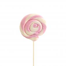 Pink Round Lollipop 25gr, 10 Pieces