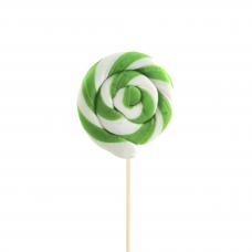 Green Round Lollipop 25gr, 10 Pieces