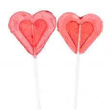 Lolly Mini Heart, 10 Pieces