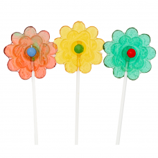 Lolly Flowers - 10 Pieces