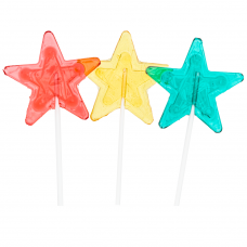 Lolly Stars, 10 Pieces