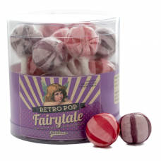Retro Pop Strawberry & Raspberry, 20 Pieces
