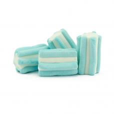 LIght Blue Striped Marshmallow, 1kg