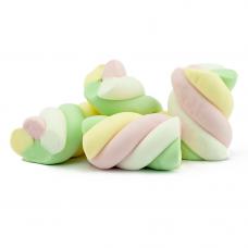 Marshmallow 4 colors twist, 1kg