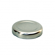 Silver Cap 43mm
