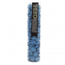 Tube Blue Chocolate Buttons, 175g