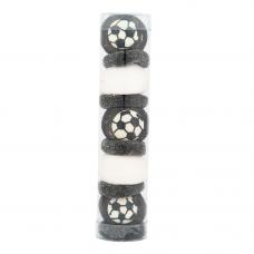 Black and White Football Tube, 100g