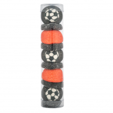 Black and Red Football Tube, 100g